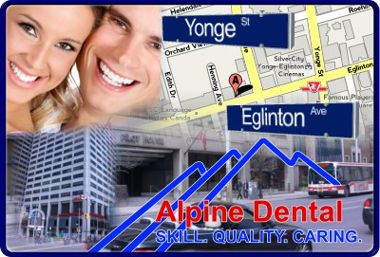 Alpine Dental at Yonge and Eglinton