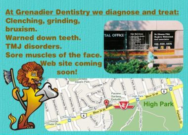 Grenadier Dental Clinic, 2100 Bloor Street, West, Unit 14, Toronto, Ontario M6S 1M7